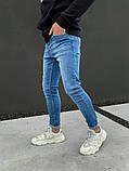 Джинсы мужские синие брендовые, фото 2