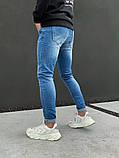 Джинсы мужские синие брендовые, фото 4