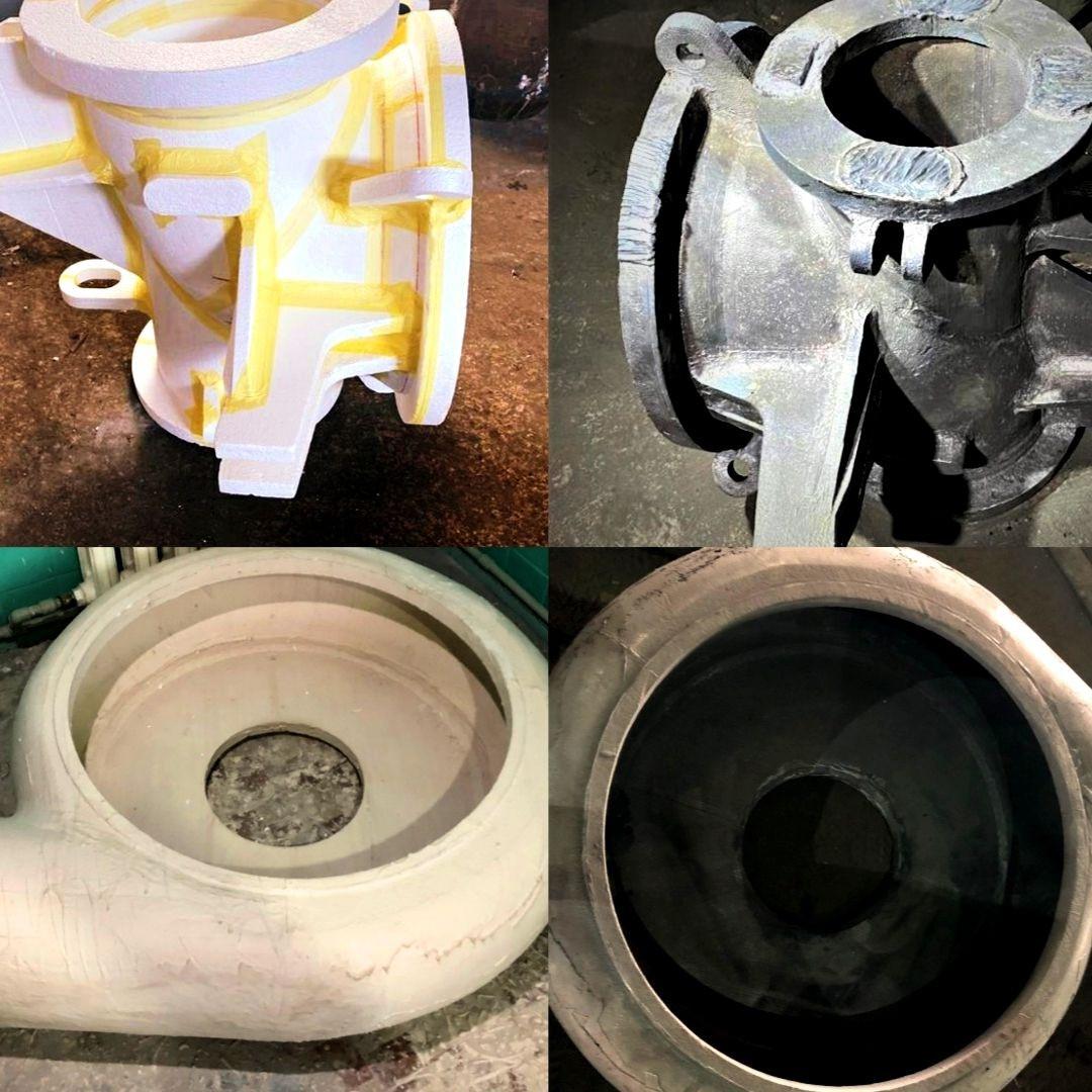 Литье метала по газифицированным моделям