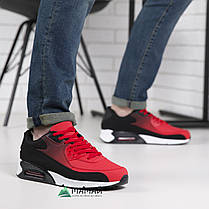 Кросівки чоловічі червоні, фото 2