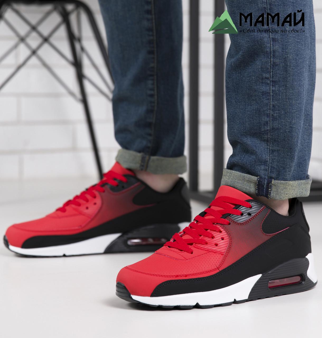 Кросівки чоловічі червоні