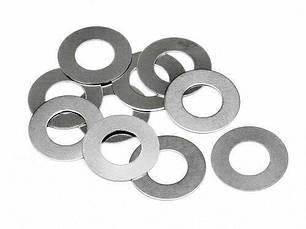 Шайбы ( кольца ) алюминиевые уплотнительные 0,5 мм -1,5 мм.