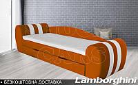 Диван машина Ламборджини 2550*840*700 ткань Etna, фото 1
