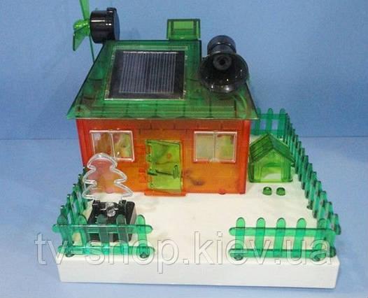 Конструктор-домик на солнечных батареях