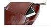 Рюкзак женский трансформер сумка из натуральной кожи Classic Черный, фото 4