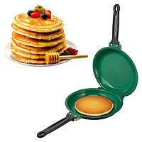Двусторонняя сковорода для блинов и панкейков Ceramic Non Stick Pancake Maker