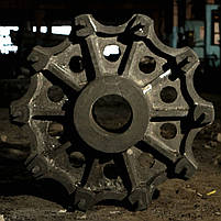 Многотонное, крупногабаритное литье стали и чугуна, фото 3