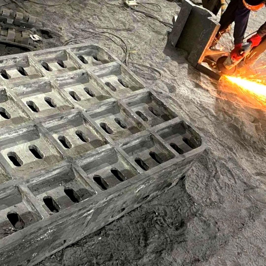 Многотонное, крупногабаритное литье стали и чугуна