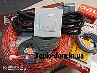 Кабель для обогрева Fenix ADSV18420 ( 2.4 м2 ) с сенсорным терморегулятором Terneo S ( Полный комплект)