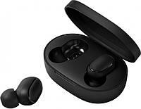 Наушники беспроводные Bluetooth MDR MI Redmi AirDots в кейсе, черные