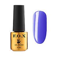 F.O.X gel-polish Vitamin 584, 6 ml Гель-лак FOX фиолетовый
