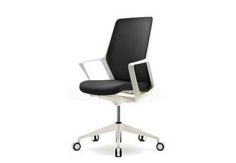 Кресло офисное компьютерное Enrandnepr FLO белый black