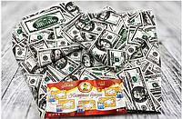 "Комплект постельного белья ""Доллар"" (Бязь Голд) Евро 200х217"