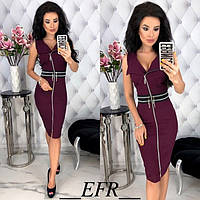 Платье облегающее женское Змейки 3398-4