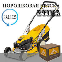 Порошковая краска Полиэфирная Etika RAL1023 желтая