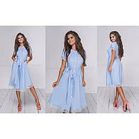Женское красивое платье с кружевом 307300
