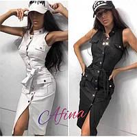 Платье женское джинсовое 237030