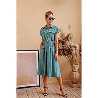 Стильное платье миди женское 54336