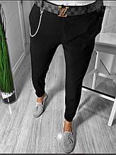 Мужские класические брюки черные лучшее качество Турция(Размер 29,31)