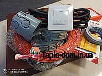 Кабель для обогрева Fenix ADSV181000 ( 5.7 м2 ) с сенсорным терморегулятором Terneo S (Полный комплект)