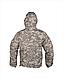 Куртка мужская демисизонная COMBAT ANORAK WINTER SCHWARZ MIL-TEC® цвет пиксель  Диджитал  Германия, фото 2