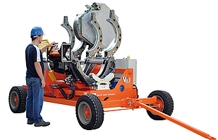 Гідравлічна машина для стикового зварювання RITMO DELTA 630 TRAILER
