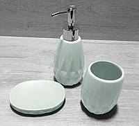 Набор аксессуаров для ванной 851-272 мятный, фото 1