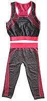 Костюм для фитнеса (Copper) одежда для спортзала Yoga Wear Suit Slimming фитнес костюм для спорта | 🎁%🚚, Спортивная женская одежда и одежда для