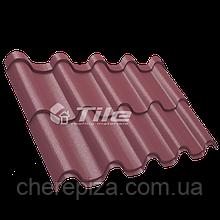 Металлочерепица Премиум плюс 3005 мат 0,5 мм U S Steel