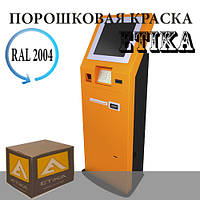 Порошковая краска Полиэфирная Etika RAL2004 оранжевая