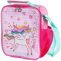 """Термо-рюкзак для обедов """"Единорог"""" маленькая термосумка для детей, сумка-холодильник для еды, Термосумки"""