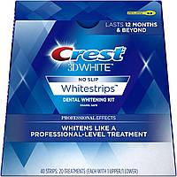 Полоски для отбеливания зубов на 4-5 тонов Crest 3D White Whitestrips Kit Professional Effects 40 шт (889714000038/889714001363/037000857785)