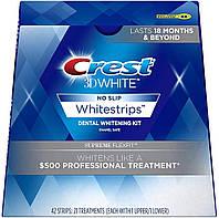 Полоски для отбеливания эмали на 6-7 тонов Crest 3D White Whitestrips Kit Supreme FlexFit 42 шт (889714000465)