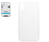 Чехол Nillkin Nature TPU Case для смартфона iPhone X, iPhone XS, прозрачный, Ultra Slim, силикон
