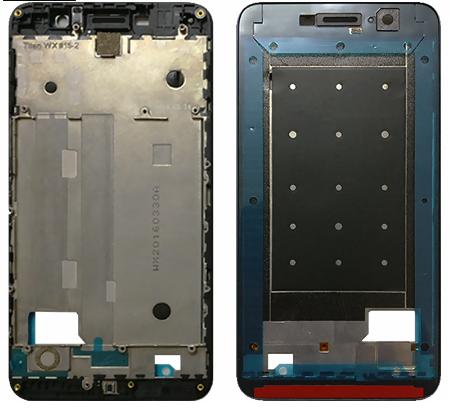 Рамка для смартфона Huawei Y6 Pro, черная