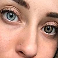 Натуральные карие линзы для глаз