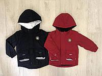 Куртка для мальчиков со светоотражающими элиментами оптом, S&D, 1-5 лет,  № KK-1130