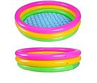 Детский надувной бассейн INTEX 58924 круг 86х25 см   Детский бассейн радуга, фото 5