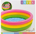 Детский надувной бассейн INTEX 58924 круг 86х25 см   Детский бассейн радуга, фото 4