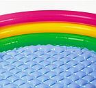 Детский надувной бассейн INTEX 58924 круг 86х25 см   Детский бассейн радуга, фото 7