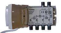 TERRA MA046 (4 входа МВ1+МВ2+ДМВ+ДМВ, усиление 30-35дБ, серия CABRIO)