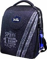 Ранец для мальчика рюкзак школьный каркасный DeLune 7-152 + мешок + мягкий пенал + часы портфель