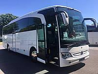 Аренда, заказ автобуса Mersedes Travego, 51 место, 2012 год выпуска.