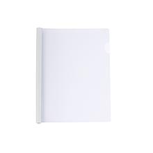 Папка Economix А4 з планкою-затиском 10 мм (2-65 аркушів), біла