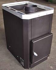 """Банная печь """"Классик"""" 26 куб.м.НОВАСЛАВ без выноса топочной камеры, фото 3"""