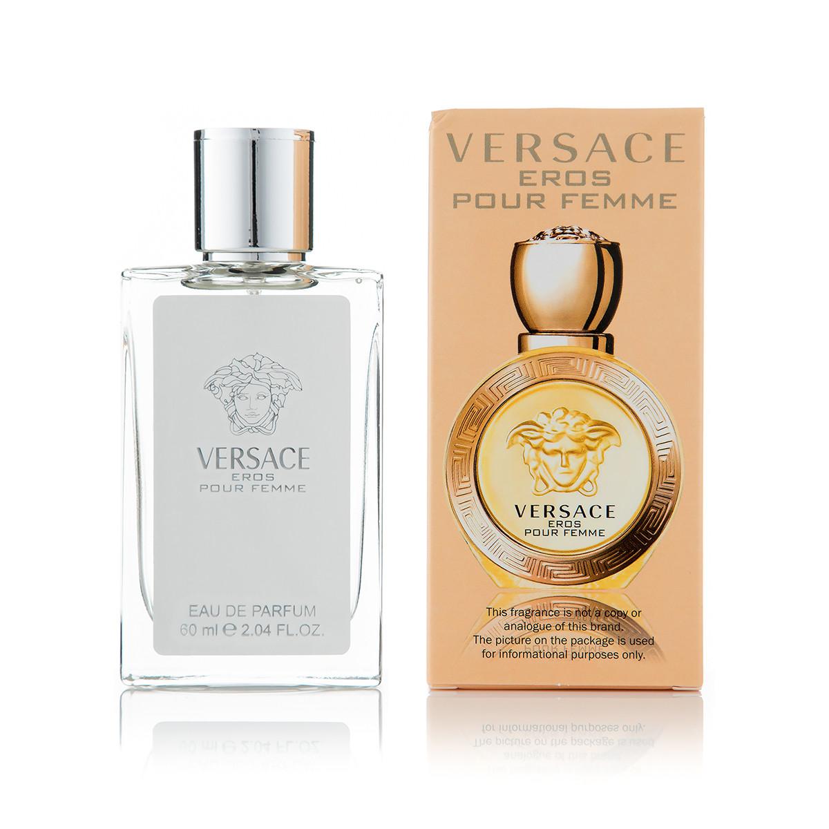 60 мл мини-парфюм Versace Eros Pour Femme (Ж)