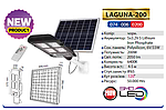 LAGUNA-200 Вт IP65 Автономный консольный светильник с солнечной панелью, фото 4