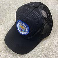 Кепка Манчестер Сити с сеткой 19/20 черная, фото 1