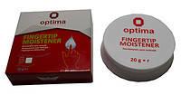 Зволожувач для пальців Optima, основа гліцерин, білий, 20г