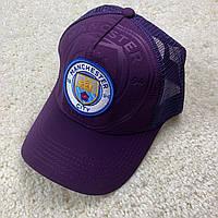Фиолетовая кепка 19/20 Манчестер Сити с сеточкой, фото 1